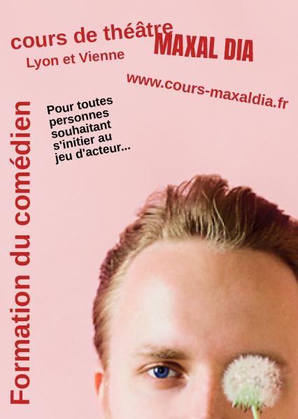maxal dia - Formation du comédien